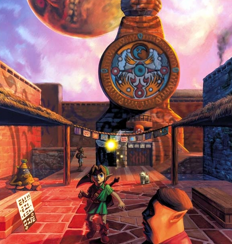 File:Link in Clock Town.png