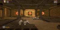 Underground Target Practice