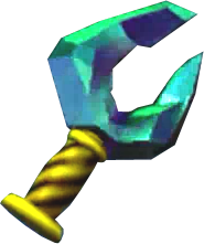 File:Ocarina of Time 3D New Stone of Agony Shard of Agony (Render).png