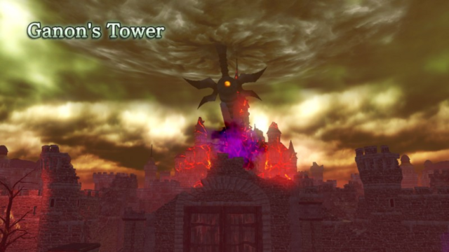 File:Hyrule Warriros Locations Ganon's Tower.png