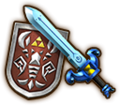Hyrule Warriors Legends Light Sword Phantom Sword & Shield of Antiquity (Level 2 Light Sword).png