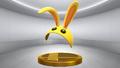 Super Smash Bros. for Wii U Bunny Hood (Mask) Bunny Hood (Trophy).png