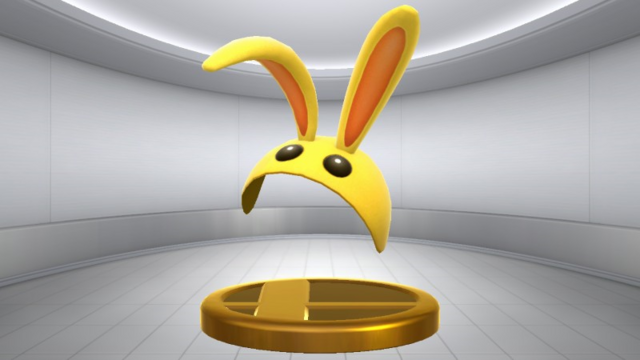 File:Super Smash Bros. for Wii U Bunny Hood (Mask) Bunny Hood (Trophy).png