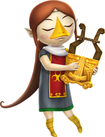 File:Medli Harp (Hyrule Warriors).png