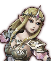 File:Hyrule Warriors Wizzro Fake Zelda (Dialog Box Portrait).png