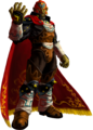 Ocarina of Time 3D Artwork Ganondorf - The Gerudo King of Evil(Offical Artwork).png