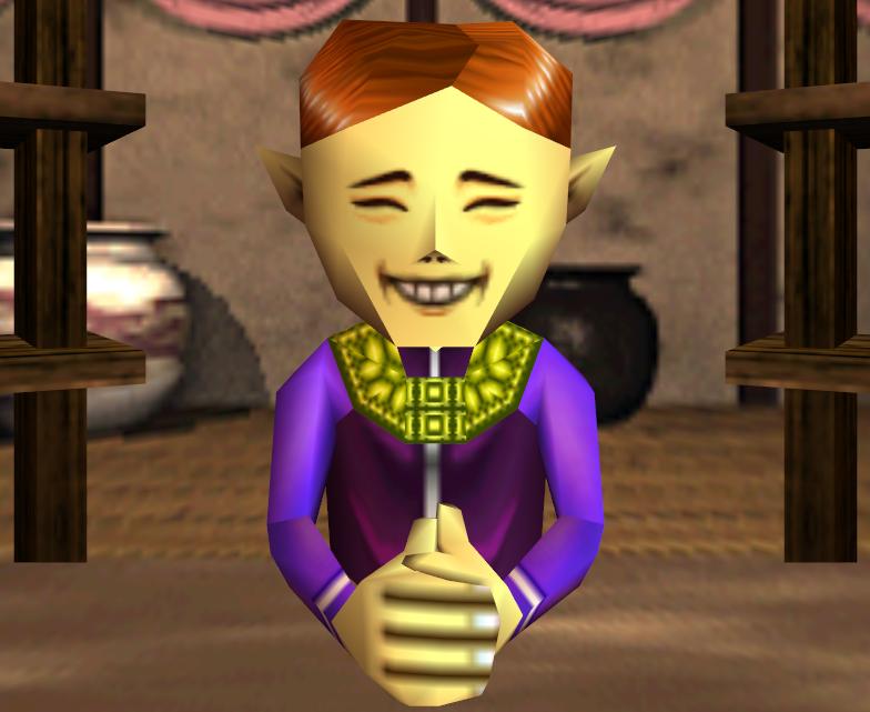 Happy Mask Salesman The Happy Mask Salesman from