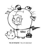 Zim Human Thing