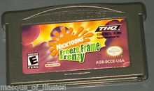 Nicktoons freeze frame frenzy cartridge