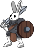 Boss Bunny Warrior