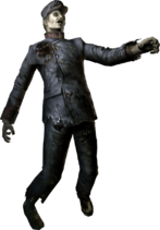 Zombie Resident Evil 0 HD Remaster