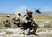 Pararescue.training exercise
