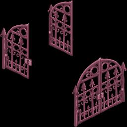 Pink Iron Gate 2