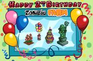 Happy 2 Birthday Loading Screen