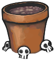 Zombie pot empty