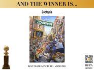 Golden Globe for Best Animated Filmjpg