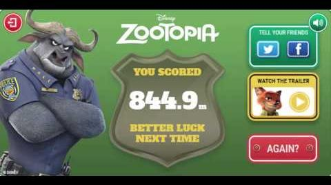 Zootopia Hopps Pursuit