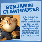 Clawhauser info