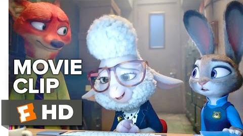 Zootopia Movie CLIP - Assistant Mayor Bellwether (2016) - Ginnifer Goodwin, Jason Bateman Movie HD
