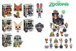 Zootopia Funko Pops and Mystery Minis