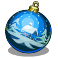Ornaments Snowy Cabin Ornament-icon
