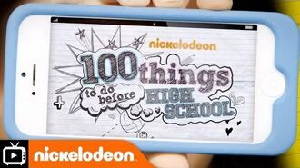 100 Things Theme Tune Nickelodeon UK