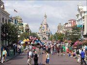 Main Street USA of Disneyland Paris