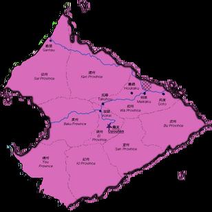 Hokkaku city of Kei