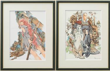 Twelve Kingdoms autographed reproductions