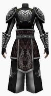 Fujin-seven black dragon armor-male-back