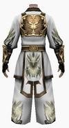 Fujin-devil king armor-male-back