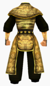 Guanyin-gold dragon robe-male-back
