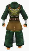 Guanyin-bamboo forest armor-male-back