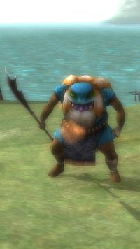 Blue Toad Grunt