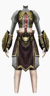 Fujin-death scream armor-female