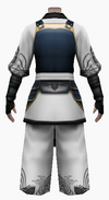Fujin-king ancient armor-male-back