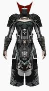 Fujin-black wolf hunter armor-male