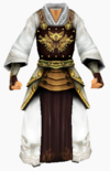 Guanyin-snowy white armor-male