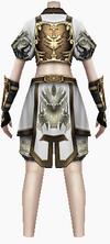 Fujin-devil king armor-female-back