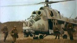 MI 24 Russian attack helicopter (RWA) Documentary