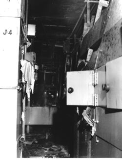 Room damaged by 1969 Rocky Flats Fire