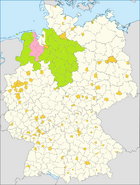 Hanover and Oldenburg planed