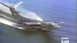 Caspian Sea Monster Ekranoplan Flight Video-0