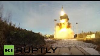 Russia Topol ICBM launched during drills at Plesetsk Cosmodrome