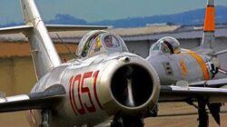 F-86 Sabre & MIG-15, Feb