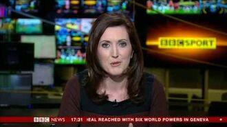 KATIE GORNALL BBC SPORT BBC World News 24 Nov 2013