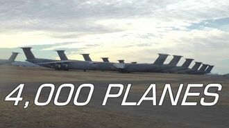 Largest Aircraft Boneyard in the World 4,000 PLANES