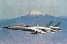F-105 Thunderchiefs Mt Fuji