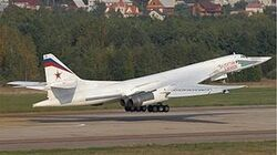 WORLDS FASTEST NUCLEAR BOMBER Russian Tu 160 Blackjack better than US air force B1 Bomber-0