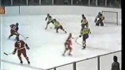 Czechoslovakia-Sweden, 17-February 1984, Sarajevo, Winter Olympics, Semifinal